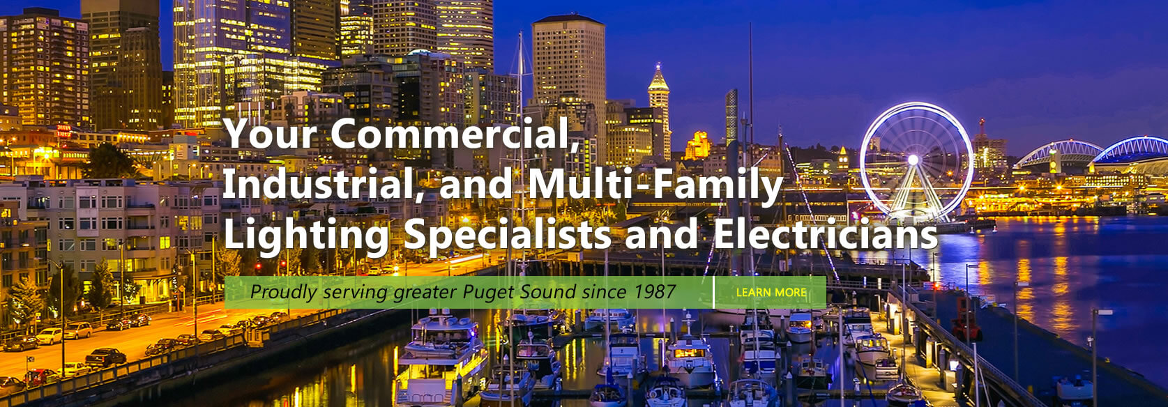 Led fluorescent and hid lights and fixtures seattle