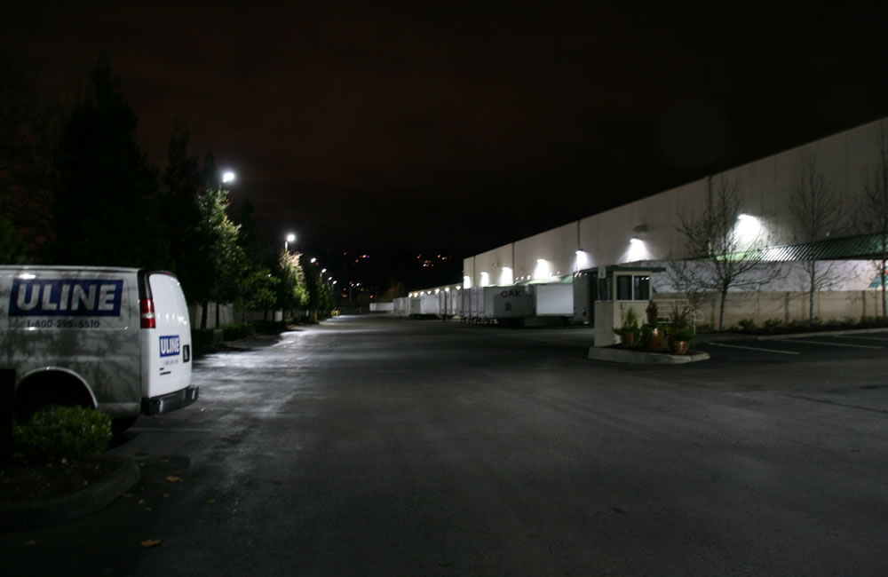 Lighting Replacement At Auburn Logistics Auburn Wa